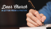 An Honest Letter to the Church (From a Pastor)