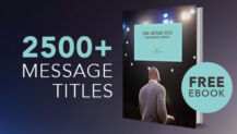 "Free eBook: ""3000 Sermon Titles"" from Slingshot Group"