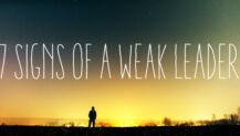 Weak church Leader