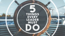 5 Things Every Leader MUST Do