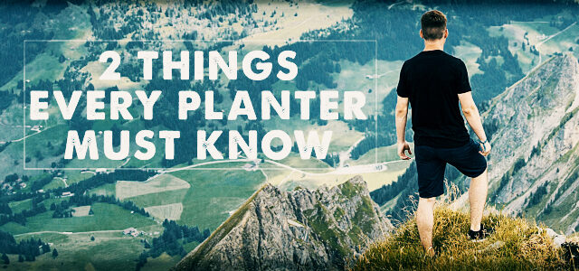 church Planter MUST Know