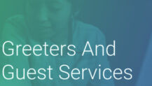 Free Training Resource: Greeter and Guest Services