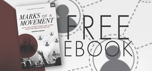 "Free eBook: ""Marks of a Movement"" by Winfield Bevins"